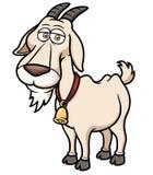 Ziegen-Karikatur Lizenzfreie Stockfotografie