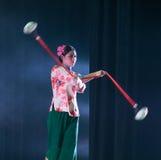 Ziehen Sie die Glocke-akrobatische showBaixi Traum-Nacht Lizenzfreies Stockbild