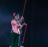 Ziehen Sie die Glocke-akrobatische showBaixi Traum-Nacht Lizenzfreies Stockfoto