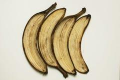 Ziehen Sie einer Banane ab Stockfotos