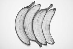 Ziehen Sie einer Banane ab Stockfoto