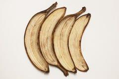 Ziehen Sie einer Banane ab Stockbilder