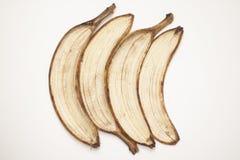 Ziehen Sie einer Banane ab Stockfotografie