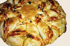 Ziehen Sie Pizza-Stern-Brot -3A auseinander stockbilder