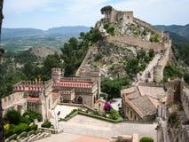 Ziehen Sie sich bei Jativa, Valencia y Murcia, Spanien zurück Stockbilder