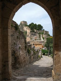 Ziehen Sie sich bei Jativa, Valencia y Murcia, Spanien zurück Lizenzfreie Stockbilder