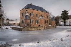 Ziehen Sie sich erenstein im Winter zurück stockfotografie