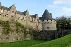 Ziehen Sie sich in Frankreich, les Chateaux-De-La die Loire zurück stockfotos