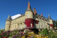 Ziehen Sie sich in Frankreich, les Chateaux-De-La die Loire zurück lizenzfreies stockfoto