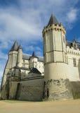 Ziehen Sie sich in Frankreich, les Chateaux-De-La die Loire zurück lizenzfreie stockbilder