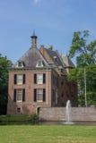 Ziehen Sie sich Kinkelenburg in der historischen Mitte von Bemmel zurück Stockbild