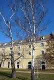 Ziehen Sie sich Petrovaradin-Festung Vojvodina, Novi Sad, Serbien zurück Lizenzfreie Stockfotos