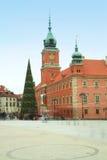 Ziehen Sie sich Quadrat in der alten Stadt - Warschau, Polen zurück Stockfotos
