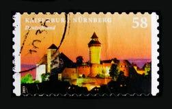 Ziehen Sie sich serie Nurnberg, der Schlösser und der Paläste, circa 2013 zurück Lizenzfreie Stockfotos