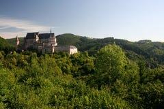 Ziehen Sie sich in Vianden, Luxemburg zurück Stockbild