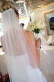 Ziehen Sie sich von der Braut zurück Lizenzfreie Stockfotos