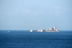 Ziehen Sie sich wenn, Marseille, Frankreich zurück Lizenzfreies Stockfoto