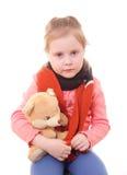 Ziek kind. royalty-vrije stock afbeeldingen