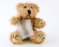 Zieke Teddy Royalty-vrije Stock Foto