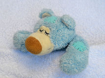 Zieke teddybeer Stock Foto's
