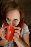 Zieke vrouwen Stock Foto