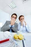 Zieken businesspeople stock afbeeldingen