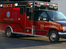 Ziekenwagen 2 Stock Fotografie