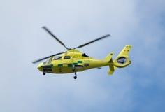 Ziekenwagen in de lucht royalty-vrije stock fotografie