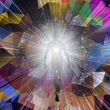 Ziel of aura royalty-vrije illustratie