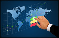 Ziel der Unternehmensplanung Stockfotos