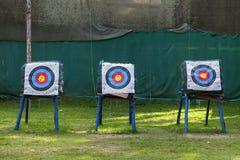Ziel für Bogenschießen Lizenzfreie Stockbilder