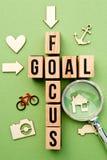 Ziel-Fokus Lizenzfreies Stockbild