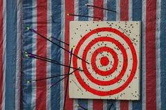 Ziel für Bogenschießen Lizenzfreie Stockfotografie