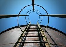 Ziel für den Himmel Stockfoto