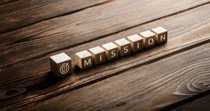 Ziel-Geschäfts-Konzept Mission Vision Strategy Company stockfotos