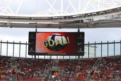 ZIEL! im Emirat-Cup '10 Stockbilder