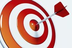 Ziel und Erfolg Stockfotos