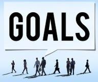 Ziel-Ziel-Aspirations-Motivations-Ziel-Visions-Konzept Stockfotografie