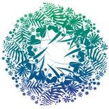 zielarski kwiatu wianek Obraz Stock