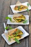 Zielarski omelette obraz royalty free
