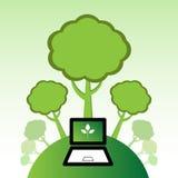 zieleń ilustracji