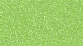 Zieleń bąbli okręgi na Zielonych tło kropkach Zdjęcia Stock