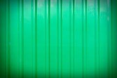 Zieleń gofrujący ogrodzenie Zdjęcia Stock