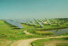 Zieleń i Energia Odnawialna Zdjęcia Royalty Free