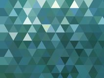 Zieleń kończący studia nowożytnego trójgraniastego wieloboka tła nowożytny projekt ilustracji