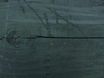 zieleń malujący tekstury drewno Zdjęcia Stock