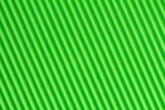 Zieleń textured gofruje karton obrazy stock