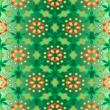 6 zieleń Obrazy Stock