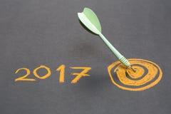 2017 Ziele Stockbild