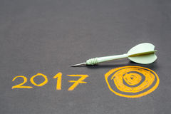 2017 Ziele Stockfoto